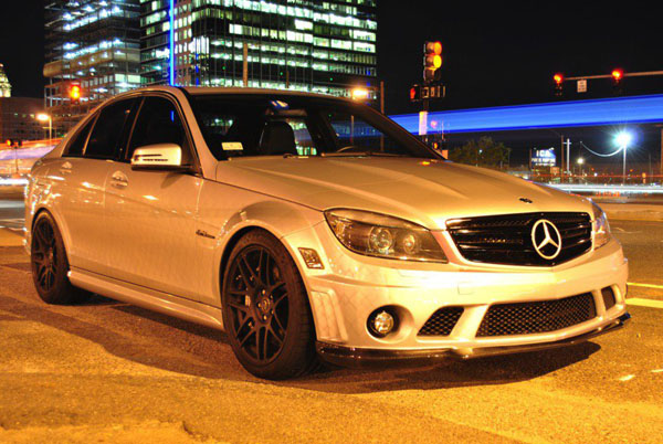 Mercedes C63 AMG Sinister Silver от Mode Carbon