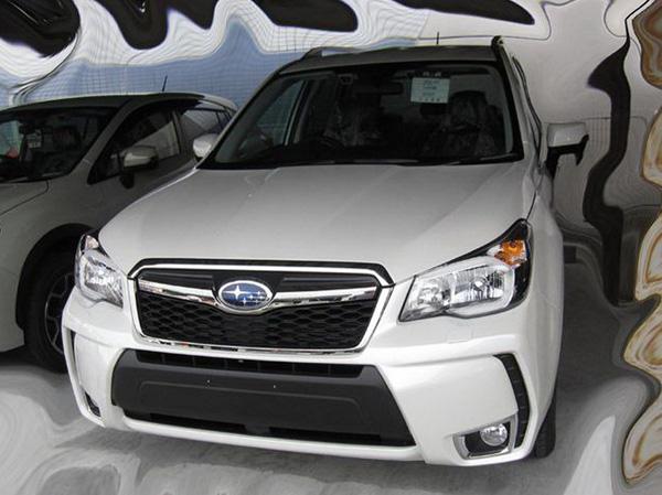 В сеть просочились фото Subaru Forester XT 2014