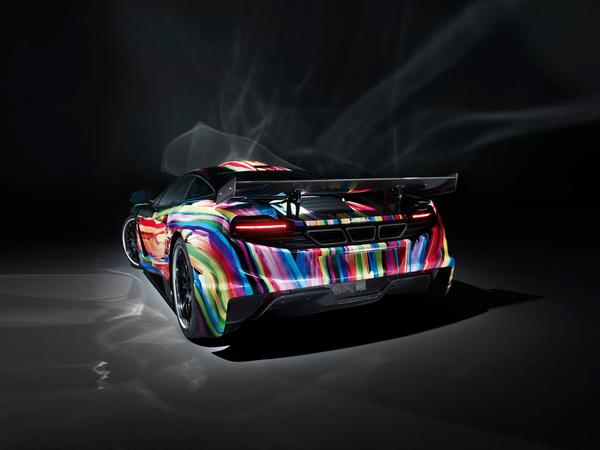 Hamann представил McLaren MP4-12C «Art Car»