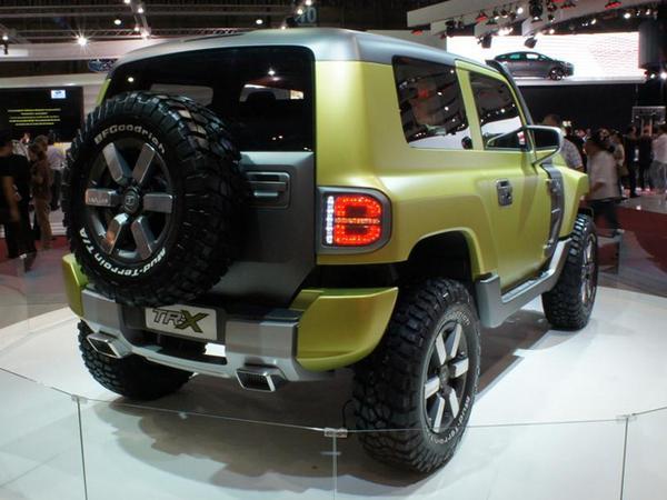 Ford представил новый концепт-кар Troller TR-X