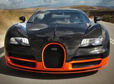 Bugatti увеличит мощность Veyron'a до 1600 л. с.
