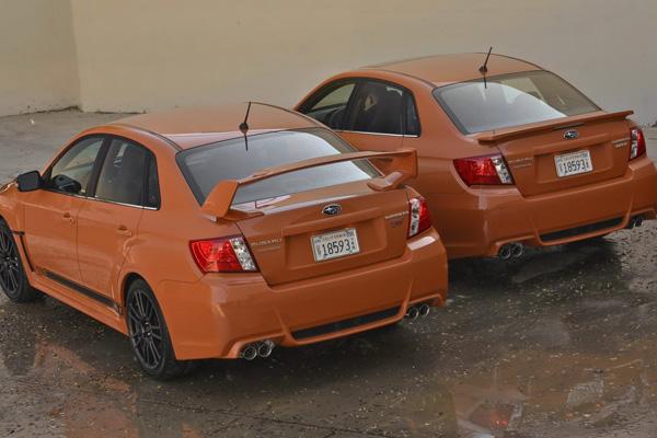 Subaru показала WRX и WRX STI Special Edition