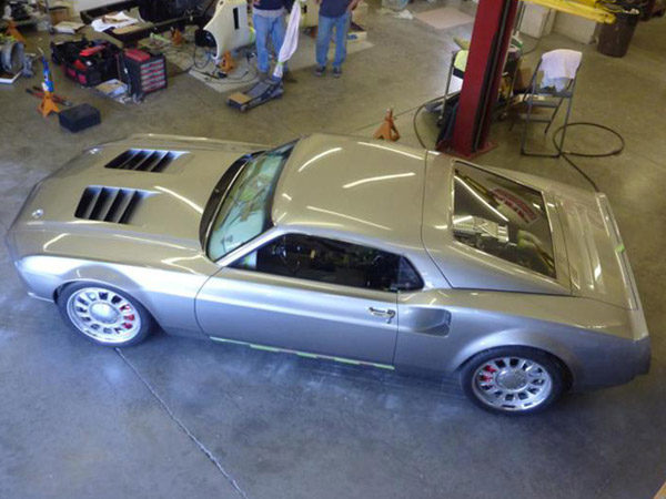 850-сильный Mustang Mach40 от Eckert Rod Shop
