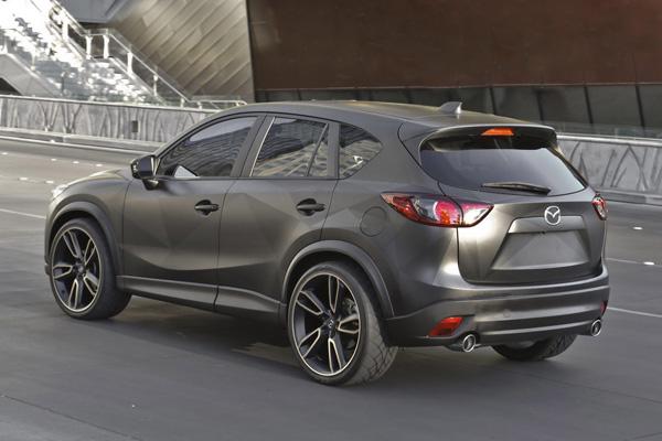 Mazda привезла в Лас-Вегас три концепта CX-5