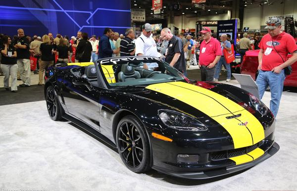 Chevrolet Corvette 427 Collector Edition на SEMA