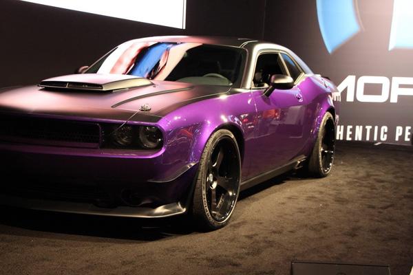 Dodge Challenger SRT8 «Ultraviolet» - новинка SEMA