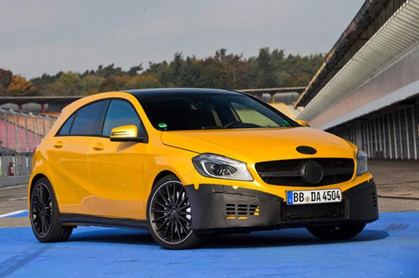 Mercedes-Benz рассекретил характеристики A45 AMG