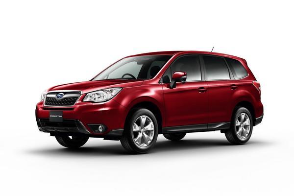 Subaru официально представил новый Forester 2014