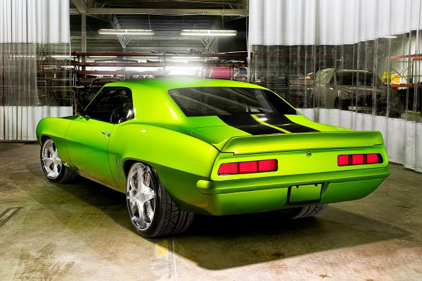 10-литровый Chevrolet Camaro 1969 от Ultimate Auto