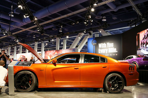 Mopar представил Dodge Charger Juiced V10