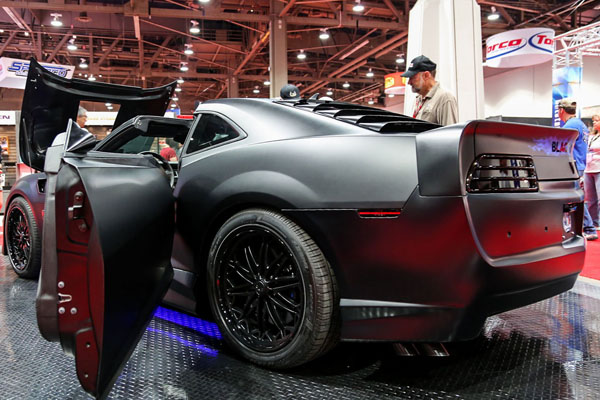 На SEMA показали спорткар Blackbird от Trans Am