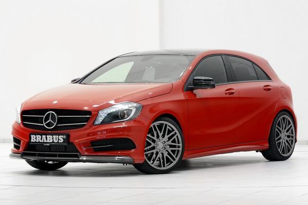 Brabus анонсировал пакет для Mercedes-Benz А-class