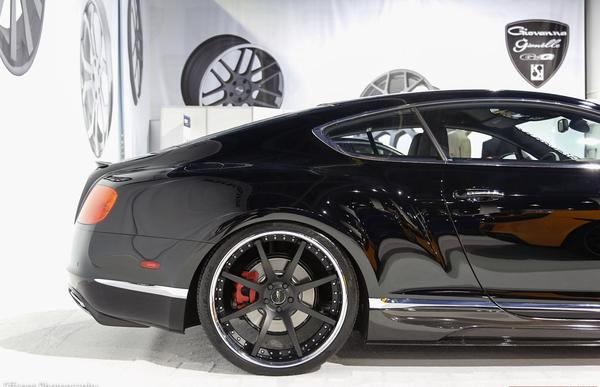 Bentley Continental BR-10 от Vorsteiner на SEMA