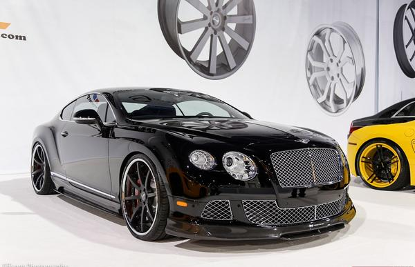 Bentley Continental BR-10 от Vorsteiner на SEMA