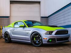Roush обновил тюнинг-пакет для Ford Mustang 2013