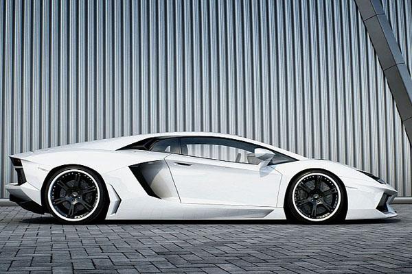 Lamborghini Aventador Bianco от Wheelsandmore