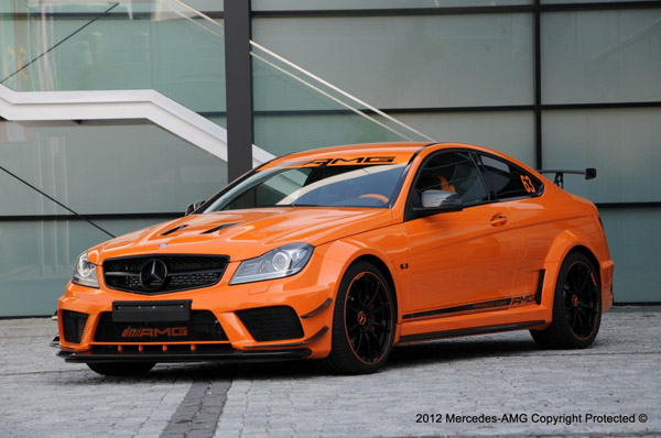 Mercedes C63 AMG Black Series Halloween Edition
