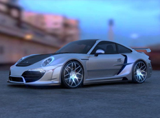 Porsche 911 (991) Attack от Anibal Automotive