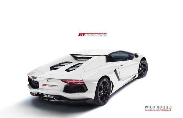 Родстер Lamborghini Aventador покажут в Майами