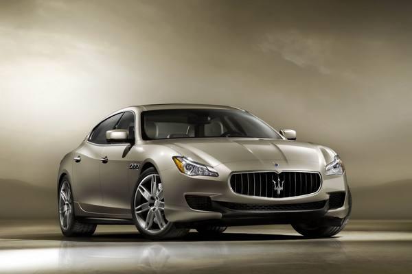 Стали известны цены на Maserati Quattroporte 2013