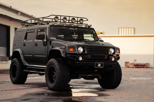 SR Auto Group создал Hummer H2 Magnum