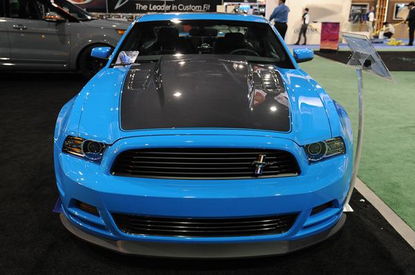 Ford Mustang GT в тюнинге Webasto