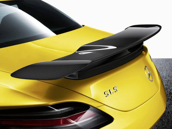 Mercedes-Benz рассекретил SLS AMG Black Series