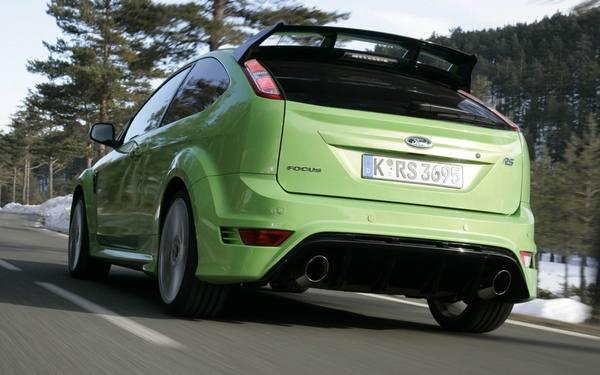 Ford обновит самую «горячую» версию Focus RS