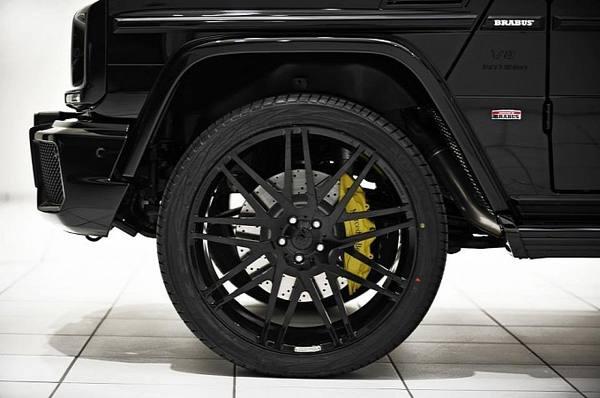 Brabus завершил работу над Mercedes-Benz G63 2013