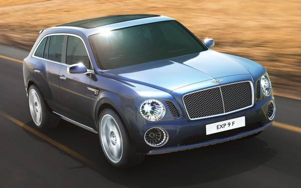 Планы на будущее компании Bentley