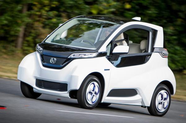 Honda построила серийную версию Micro Commuter