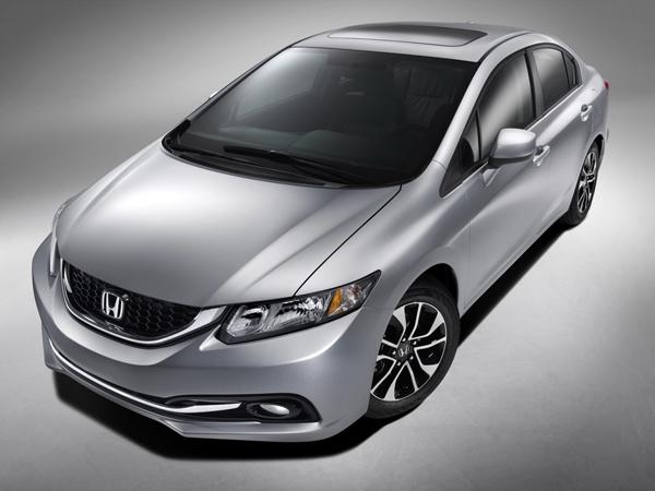 Honda анонсировала рестайлинговый седан Civic