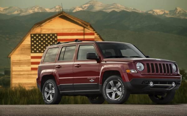 Jeep представил спецверсию Patriot Freedom Edition