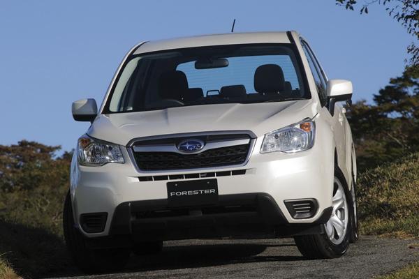 Subaru Forester 2014 - свежие фото и данные