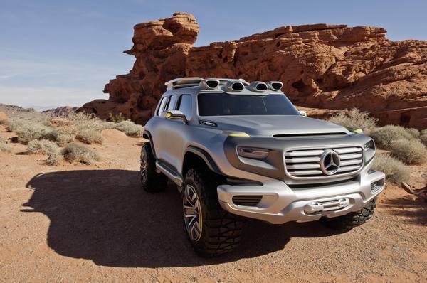 Mercedes-Benz Ener-G-Force покажут в Лос-Анджелесе