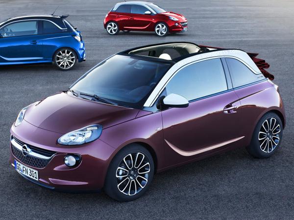 В Женеве покажут кабриолет Opel Adam Convertible