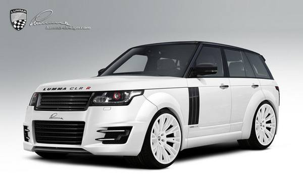 Lumma Design готовит пакет для Range Rover 2013