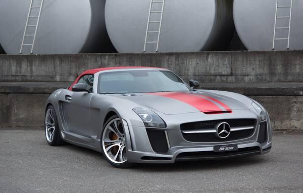 Mercedes SLS AMG Roadster в тюнинге FAB Design