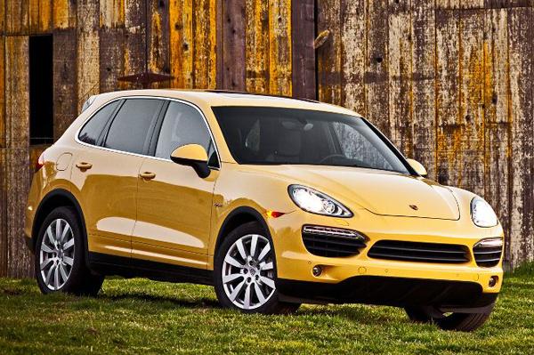 Porsche Cayenne e-Hybrid появится в 2014 году