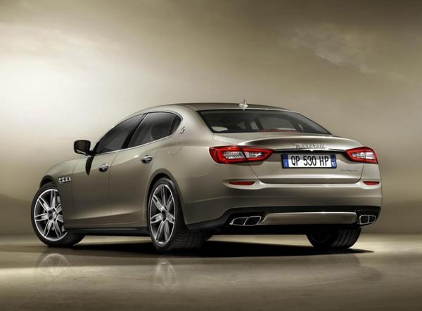 Maserati Quattroporte получит твин-турбо моторы