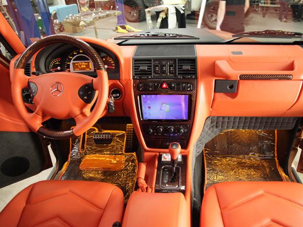 Mercedes G55 AMG Copper Edition от AKA Eurosport
