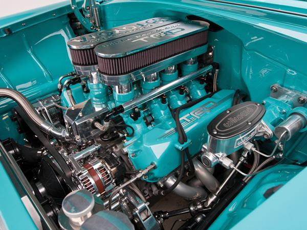 Chevrolet Two-Ten 1956 получил 5,8-литровый мотор