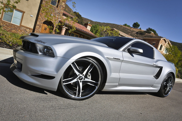 Ford Mustang GT от Forgiato Wheels