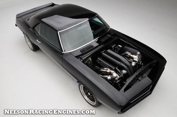 2000-сильный Chevrolet Camaro 1969 от NRE