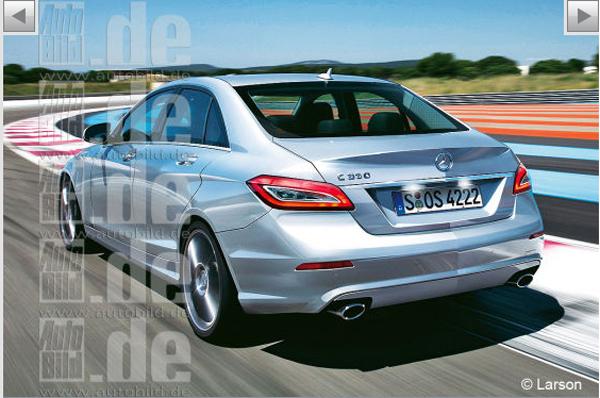 Mercedes-Benz C-Class 2014 – свежие данные