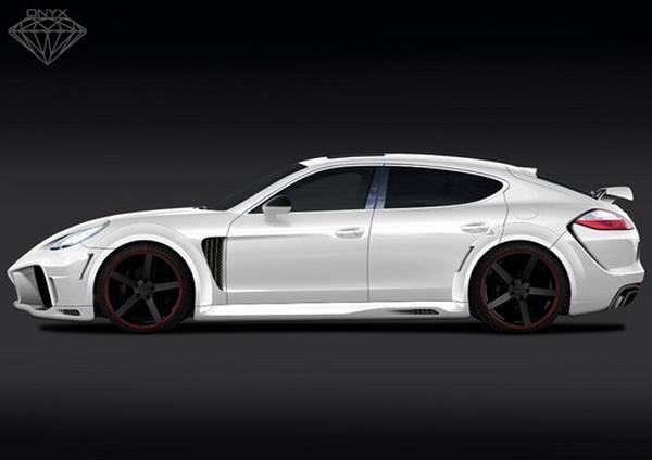 Onyx работает над пакетом для Porsche Panamera