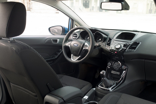 Расход Ford Fiesta 2014 составит 4,3 л/100 км