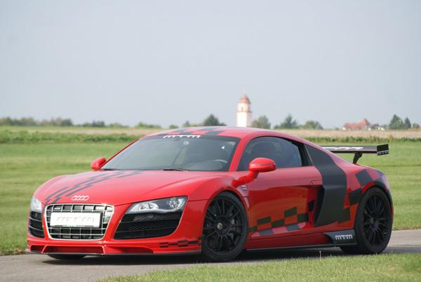 MTM доработал купе и родстер Audi R8 V10