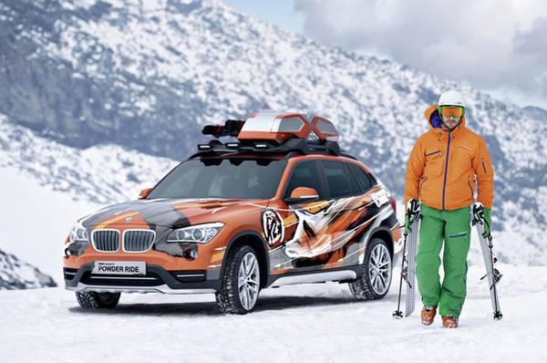 BMW Concept K2 Powder Ride покажут на автошоу в LA