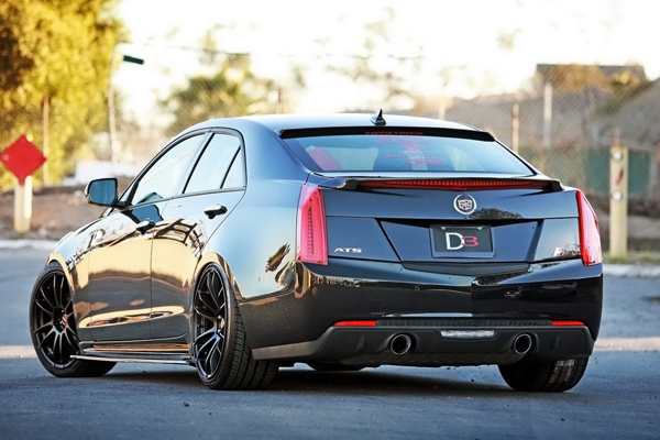 D3 Group первым доработал седан Cadillac ATS 2013